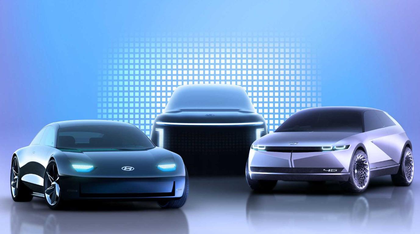 Hyundai создает новый отдельный бренд для электромобилей