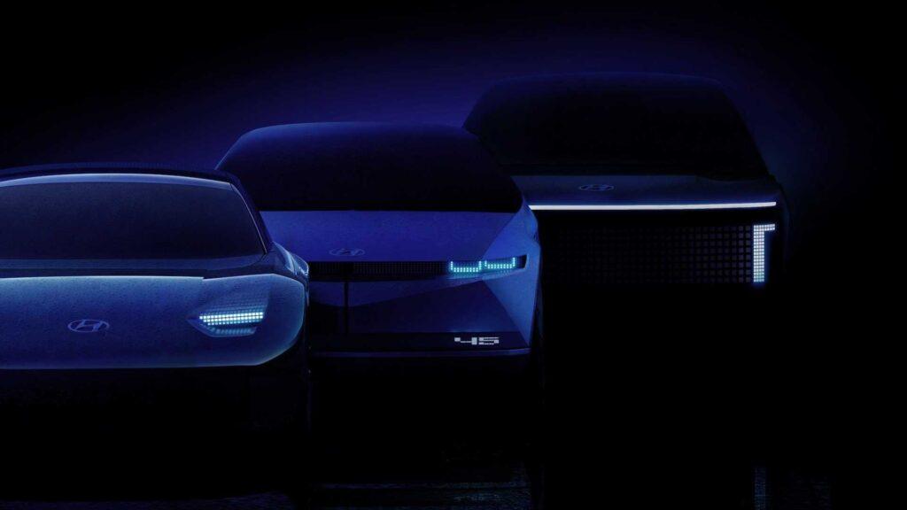 Новый суббренд Ioniq дебютирует с появлением серийного варианта концептуального Hyundai 45