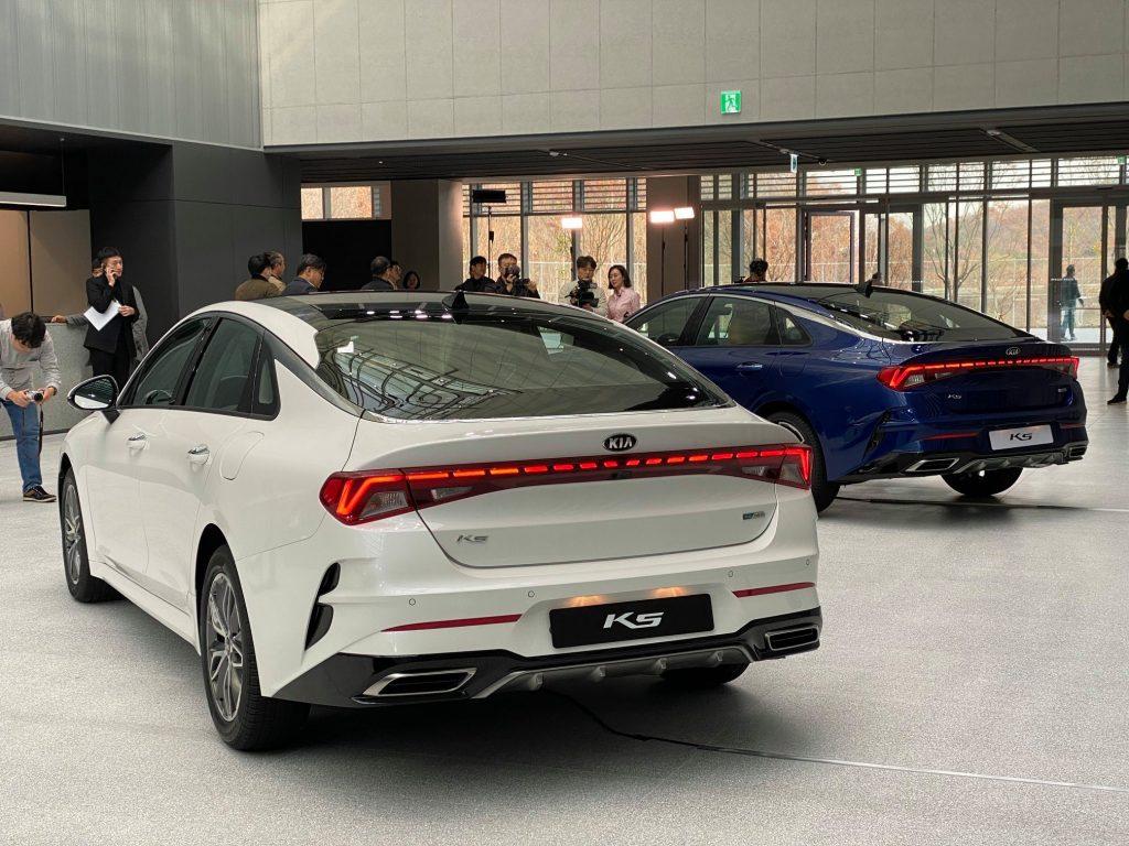 Начато производство новой Kia Optima/K5