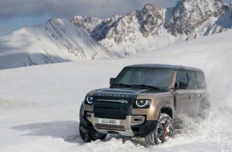 Обновленный Land Rover Defender начал продаваться в РФ