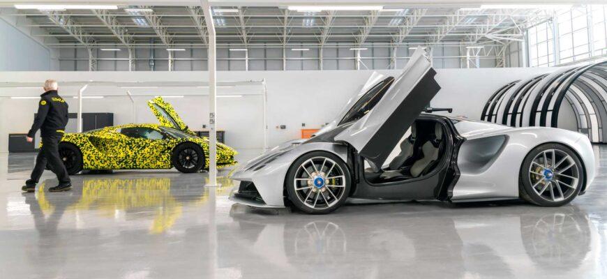 В середине года выйдет последняя модель Lotus содержащая ДВС