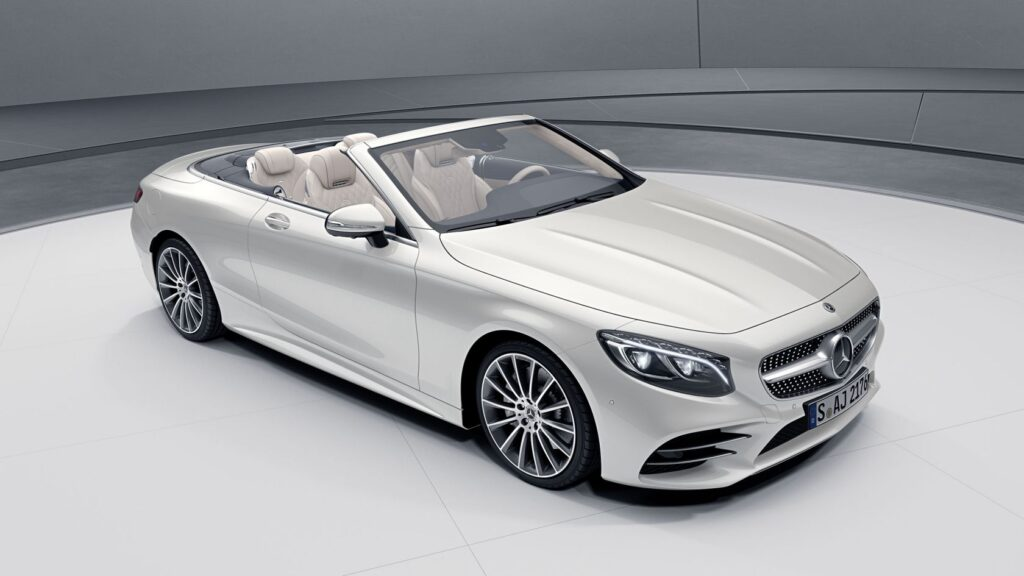 Mercedes-benz S-class кабриолет