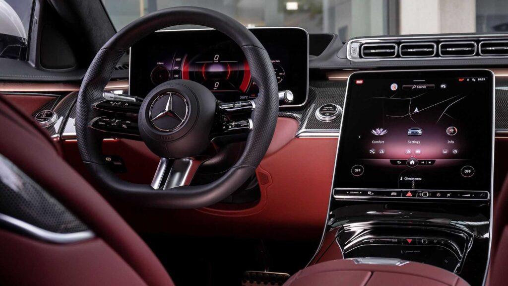 Салон Mercedes-Benz S-класса W223