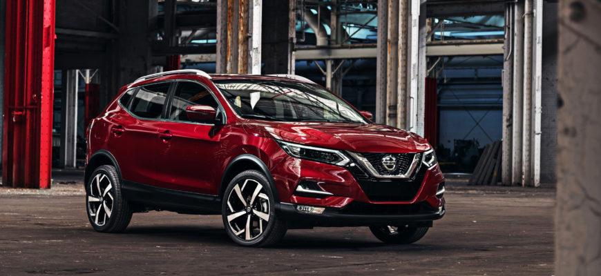 Nissan представит обновлённый Qashqai и X-Trail в сентябре