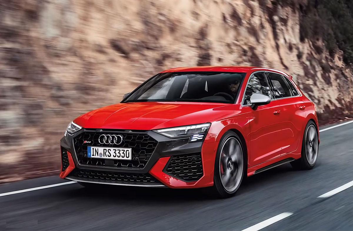 Известны подробности нового Audi RS3