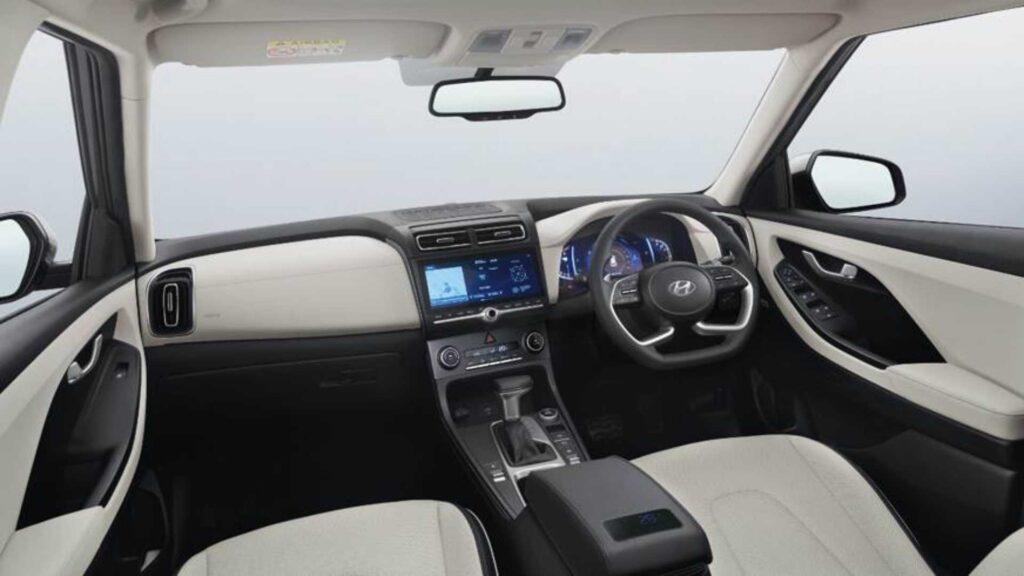 Салон новой Hyundai Creta