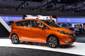 Nissan Note получил очередное обновление