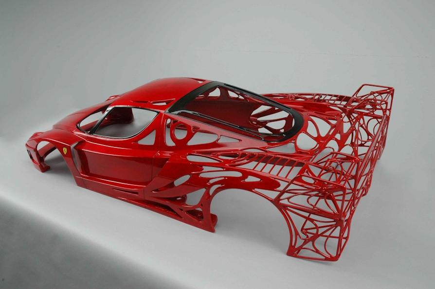 Скульптуры автомобилей заслуживающие внимания