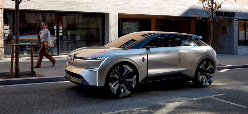 Renault на электротяге будет иметь запас хода в 600 км