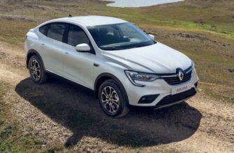 Renault Arkana – один из лидеров продаж среди кроссоверов в РФ