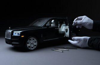 Мини-модель Rolls-Royce Cullinan может стоить 2.4 млн. рублей