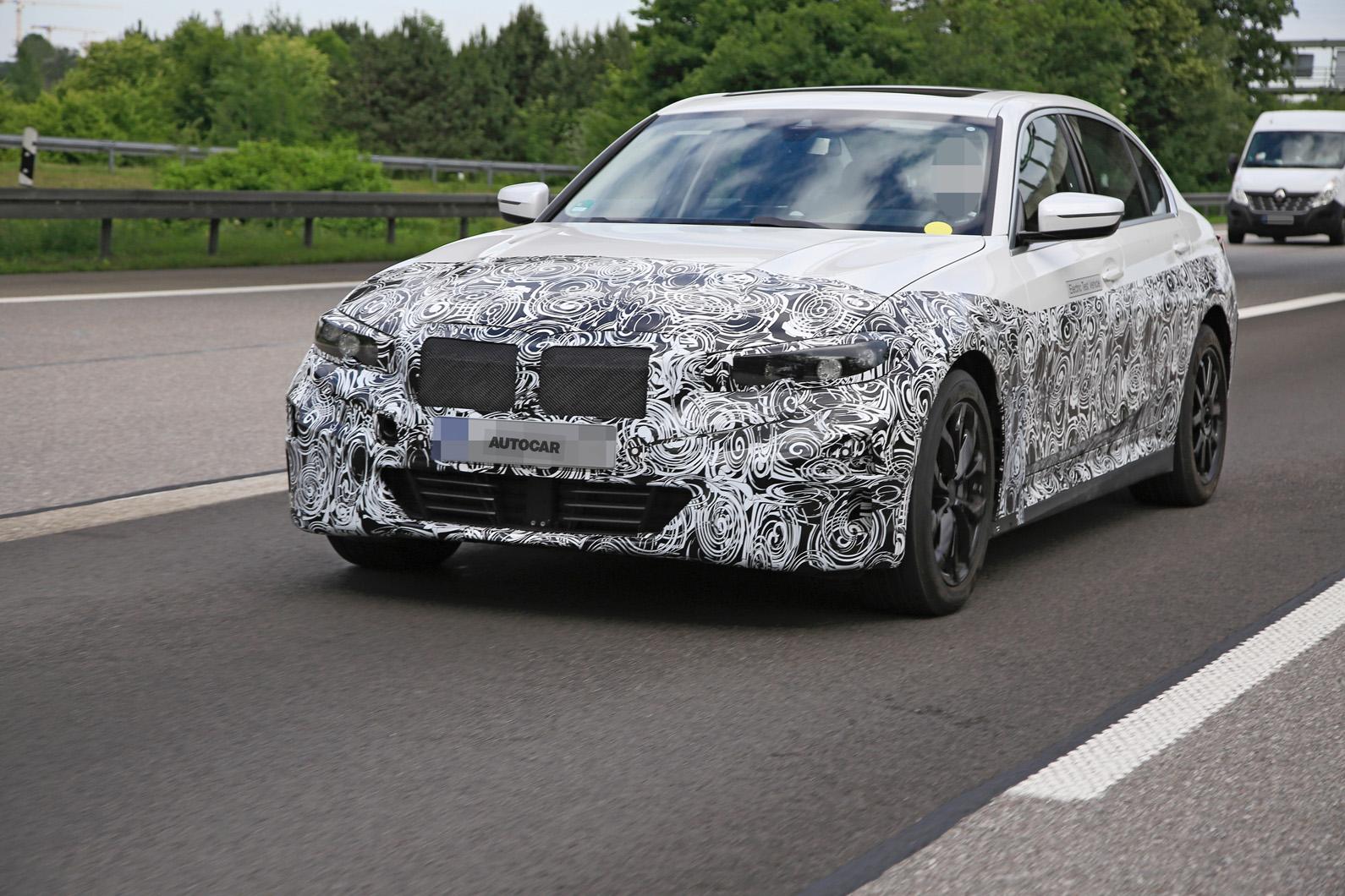 Из BMW 3 сделают электромобиль