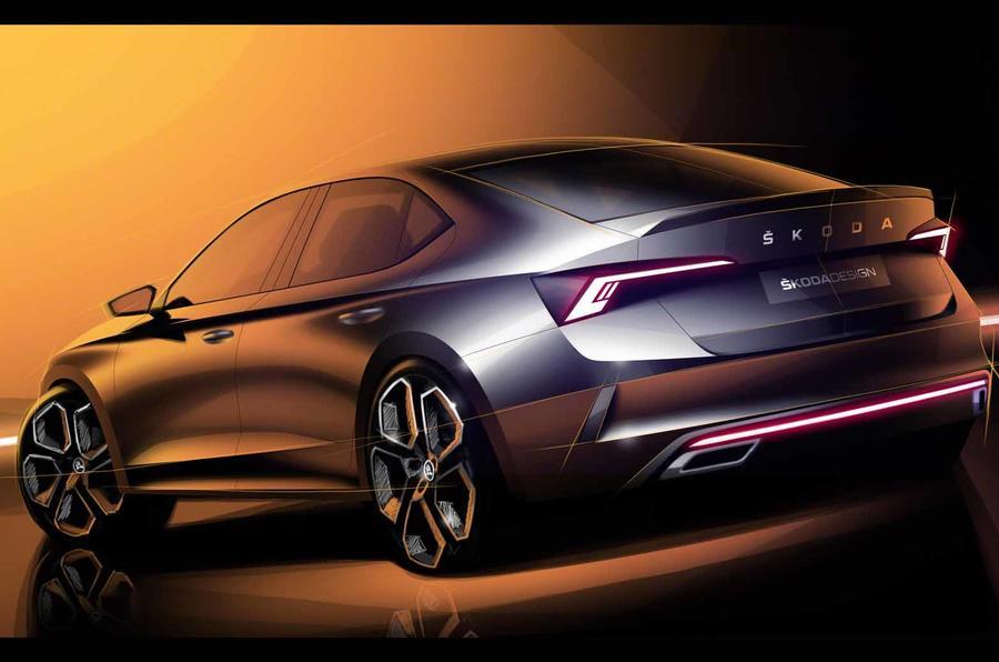 Skoda Octavia RS будет представлена на автосалоне в Женеве
