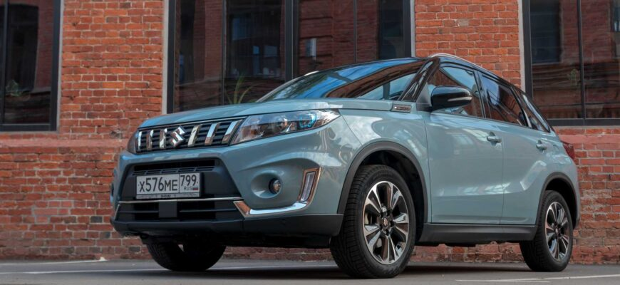 Обновленный Suzuki Vitara уже на подходе