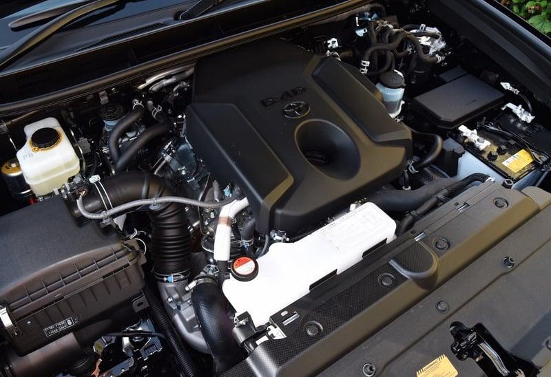 Усовершенствованный двигатель – это улучшенный дизельный агрегат объемом 2.8 литра.