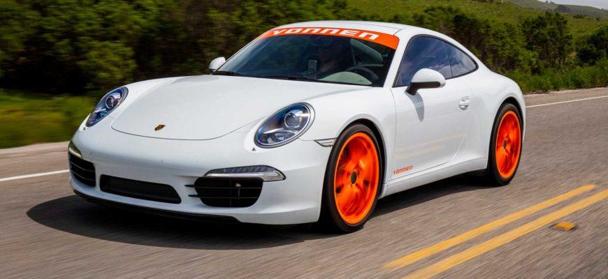 Переделанный в гибрид Porsche 911 стал на 150 лошадиных сил мощнее
